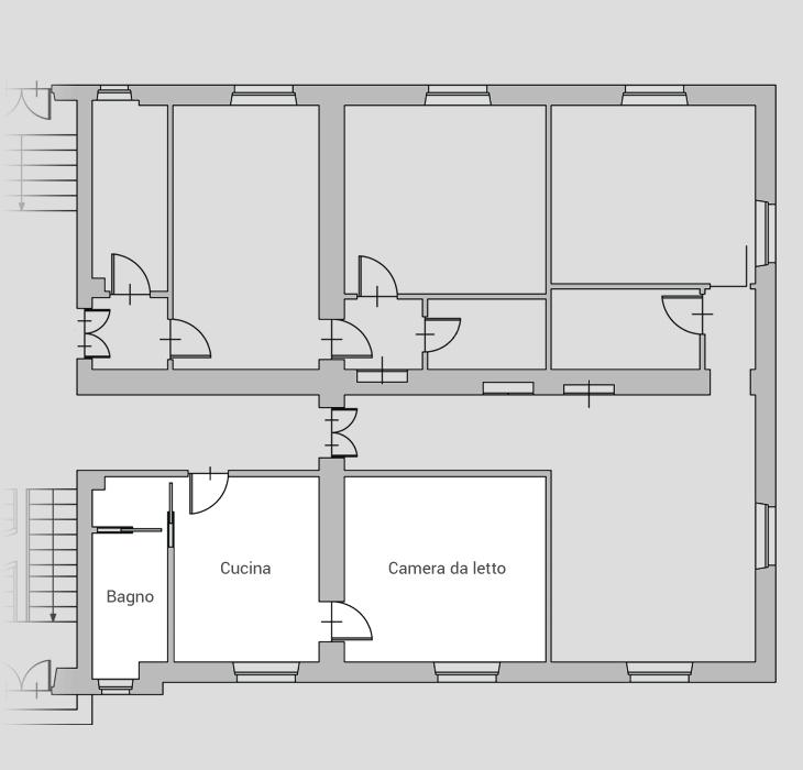 Appartamento 1 - Yukon